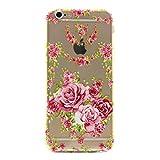 Pour Apple iPhone 6/6S(4.7 Zoll) Coque,Ecoway Housse étui en TPU Silicone Shell Housse Coque étui Case Cover Cuir Etui Housse de Protection Coque Étui –Rose