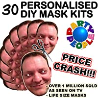 Party People 30 DIY Mask Kits to make at home