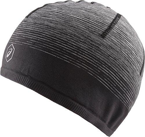 Asics Seamless Beanie Herren Mütze, Ombre, Schwarz–(Performance Black) (Kopfbedeckung Asics)
