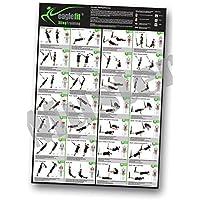 eaglefit® Sling Trainer Übungsposter mit 28 Übungen; 59,4 x 84 cm, Neu und überarbeitet
