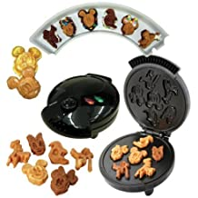 Disney Mickey &Gang 5 in 1 Tasty Baker Waffle Maker,Bakes Pancake,Muffins, breads, cakes, and brownies by Disney