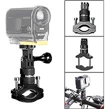 Support Vélo en Aluminium pour Gopro, Fixation Caméra Action Rotation à 360  Degrés, Attache Gopro Hero 6  5  4  3+  3  2  Session, SONY FDR-X1000VR, ... 8a4944f027a7