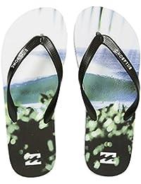 Billabong Tides Hawaii Mens infradito Uomo Tides Hawaii Multicolore 42