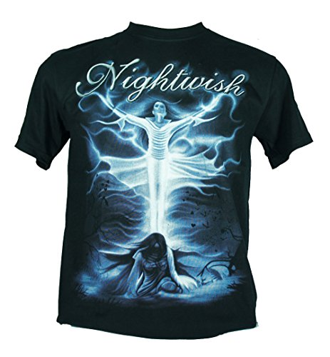 Nightwish - Maglietta da uomo nero Ghost Love Score Extra Large Size Xl