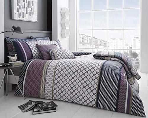 Price comparison product image Amelia 200 Thread Count Purple Duvet Sets (Double)