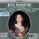 Eva marton en concert oeuvres de boito, catalani, cilea, mascagni, ponchielli, p