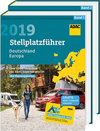 ADAC Stellplatzführer Deutschland/Europa 2019: Über 3000 Stellplätze von ADAC Experten geprüft (ADAC Campingführer)