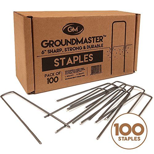 groundmaster-6-150mm-garden-staples-u-shaped-securing-pegs-perfect-for-fleece-woven-weed-control-fab