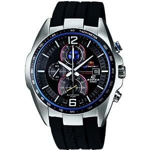 Casio Men's Quartz Watch Edifice EFR-528RBP-1AUER with Rubber Strap