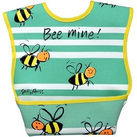 Dex Dura Grand bavoir pour âge 6–24mois–Bee Mine