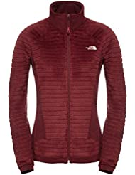 North Face W Radium Hi-Loft Jacket - Chaqueta para mujer, color rojo, talla S