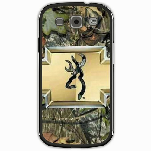 Personalized Samsung Galaxy S3 SIII i9300 Back Diy PC Hard Shell Case Fashion Hot Browning Camo Black by icecream design