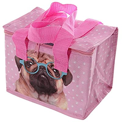 Fun Pink Pug Design Lunch Box Cool Bag Need A Handy, Durable And Lightweight Lunch Box That Is