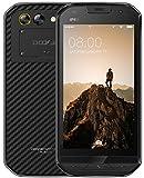 DOOGEE S30 - IP68 Étanche 4G Robuste smartphone Android 7.0, 5580mAh batterie triple caméra (5MP + 3MP + 8MP), 2Go / 16Go Double SIM GPS - Noir