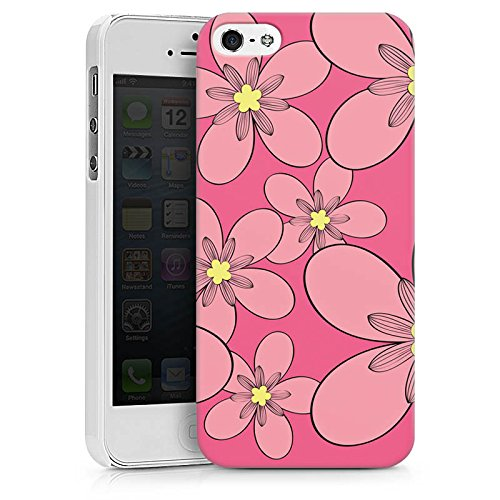 Apple iPhone X Silikon Hülle Case Schutzhülle Flower Muster Ornament Hard Case weiß