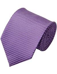 Luther Pike Seattle corbata flaca chambray de algodón - 2.75 pulgadas W33g833RCF