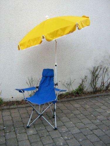 Holly® produits - Stabielo Parasol Polyester 250 cm - 10 pièces Couleur Jaune - Dans le Prix de Partie - Frais d'Expédition
