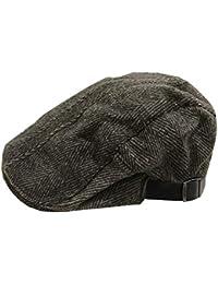 ACVIP Autunnale Lana Beret Cap Hat per Gli Anziani Tappo in Avanti Unisex d86587ea7983