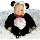 Paradis Galleries su-lin, incroyablement réaliste 51cm bébé Poupée Asiatique en costume de panda chinois