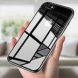 iPhone 8 Hülle, iPhone 7 Silikon Hülle, innislink iPhone 8 / iPhone 7 Bumper Case TPU Schutzhülle Silikon Hülle Flexibel Gel Hülle Kratzfest Schlank Anti-Scratch Anti-Rutsch Handyhülle für iPhone8 / iPhone7 - Schwarz
