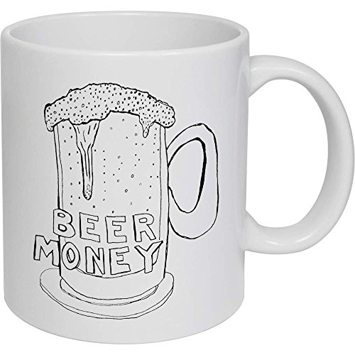 Azeeda 320ml 'Beer Money' Kaffeetasse / Becher (MG00009874)