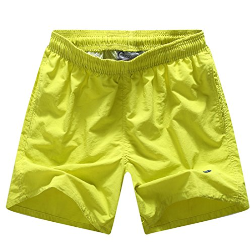 Men's Casual Leisure Board Shorts yellow