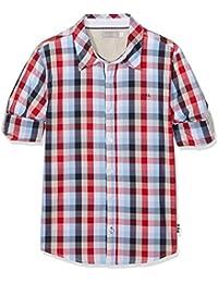 boboli, 731326 - Camisa Popelin Cuadros para niños