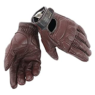 Dainese-BLACKJACK Unisex Handschuhe, Dunkelbraun, Größe XL