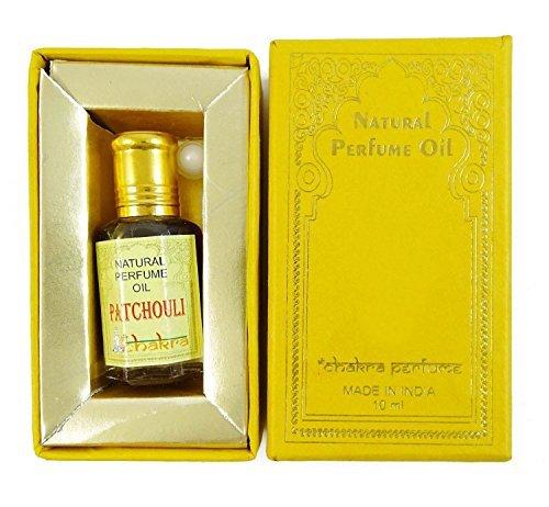 Chakra Naturparfum Patchouli Duft 100% reines Naturparfum Öl 10ml -