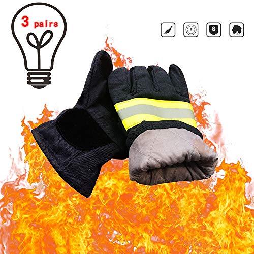 Guantes de protección contra incendios ignífugos