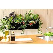 muebles bonitos jardinera colgante de bolsa grande