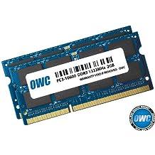 OWC OWC1333DDR3S04S 4GB DDR3 1333MHz módulo de - Memoria (4 GB, 2 x 2 GB, DDR3, 1333 MHz, 204-pin SO-DIMM)
