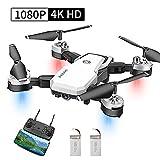 Abblie Drone avec Caméra, Drone Enfant avec WiFi FPV 1080P HD 4K Pixels,...