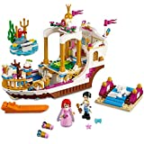 ICW Princess Mermaid Friends Alice Real Celebration Boat Set Building Blocks Educational Bricks 393PC (SY987)