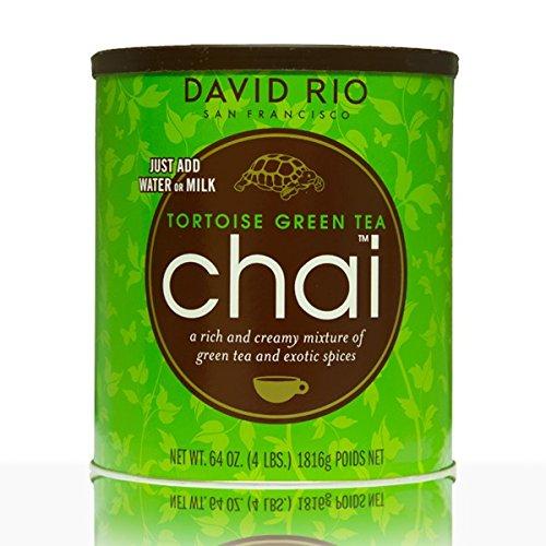 David Rio - Tortoise Green Tea Chai - Foodservice (1816 g)