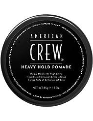 AMERICAN CREW HEAVY HOLD POMADE Cire Fixation Forte Brillance Elevée, 85ml