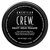 AMERICAN CREW HEAVY HOLD POMADE Cire Fixation Forte Brillance Elevée, 85ml