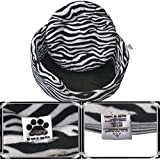 "Comfy-German Fleece Fabric HQ Foam Filled Dual Side Reversible Dog/Cat Bed-M (26X26X9"")"