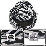 Comfy-German Fleece Fabric HQ Foam Filled Dual Side Reversible Dog/Cat Bed-M (26X26X9')