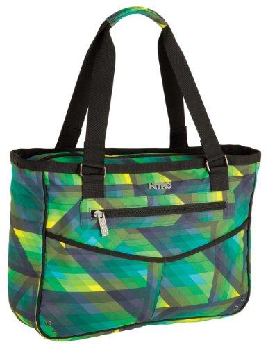 Nitro Snowboards Handtasche Carry All Bag geo green