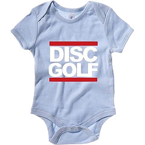 T-Shirtshock - Body neonato OLDENG00633 run dgc disc golf tee