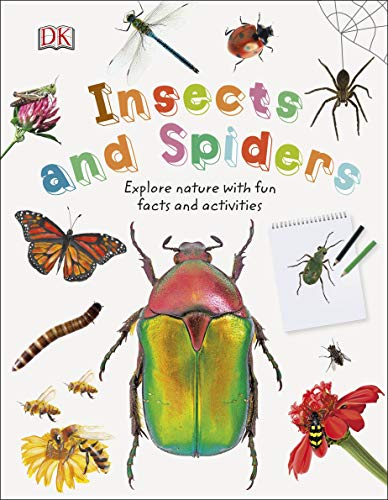 Insects and Spiders: Explore Nature with Fun Facts and Activities (Nature Explorers) (English Edition)