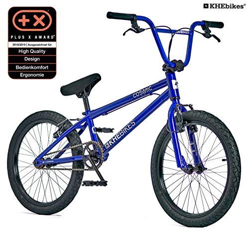 KHE BMX Fahrrad Cosmic BLAU mit Affix Rotor nur 11,1kg!
