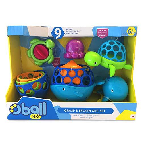 Oball, Badespielzeug, Geschenkset Grasp & Splash