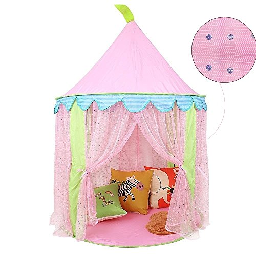 Preisvergleich Produktbild Pericross Kinder Spielzelt Prinzessin Haus für Mädchen