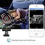 Intelligente Baby-Monitor-drahtlose bewegliche entfernte intelligente Netzwerk-HD-Kamera-effektive Entfernung 10-25 Meter kompatibel mit Android/Ios / Computer