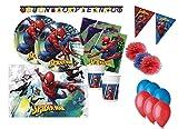Procos IRPot - Kit N.57 Kit Compleanno Bambino Vari Personaggi (Spiderman)