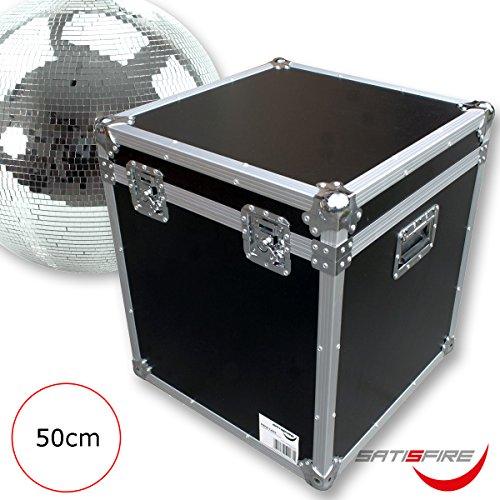 Flightcase für 50cm Spiegelkugel - Transportkiste Discokugel | Sicherer Transport und Lagerung | SATISFIRE® -