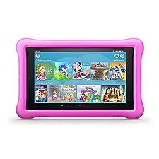 """Amazon Fire Tablet 8 Kids Edition, 20,30cm (8"""") HD IPS Display, 32 GB Speicher, pinke kindgerechte Hülle (B07952VWG7)"""