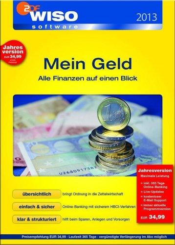WISO Mein Geld 2013 Standard 365 Tage [Download]